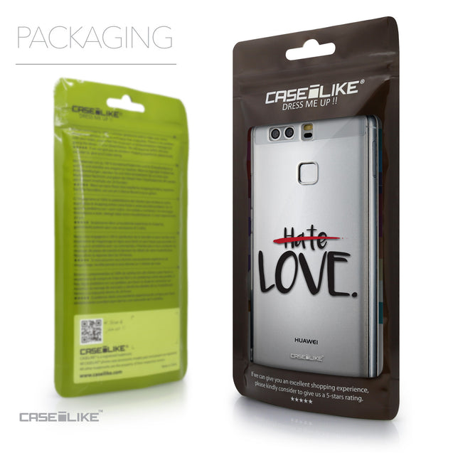 Packaging - CASEiLIKE Huawei P9 back cover Quote 2406