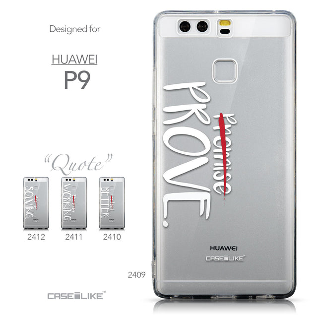 Collection - CASEiLIKE Huawei P9 back cover Quote 2409