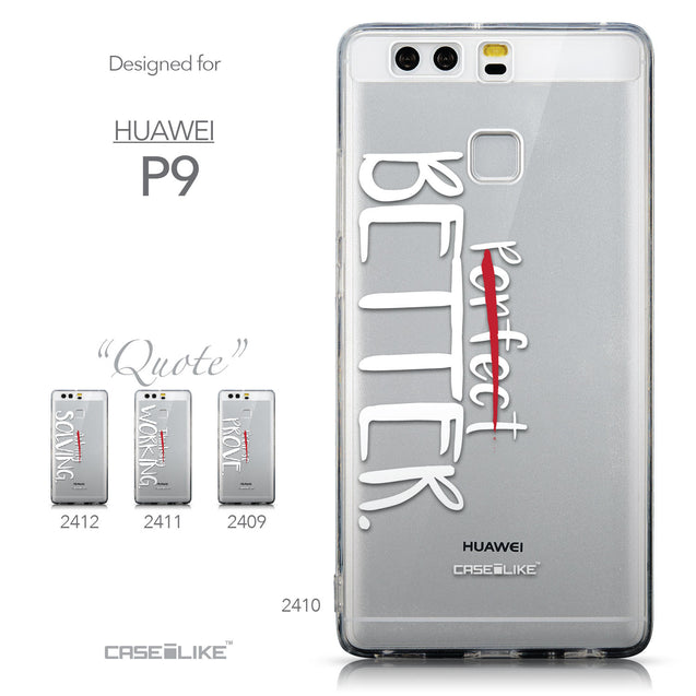 Collection - CASEiLIKE Huawei P9 back cover Quote 2410