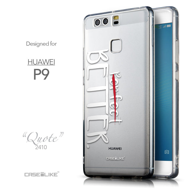 Front & Side View - CASEiLIKE Huawei P9 back cover Quote 2410