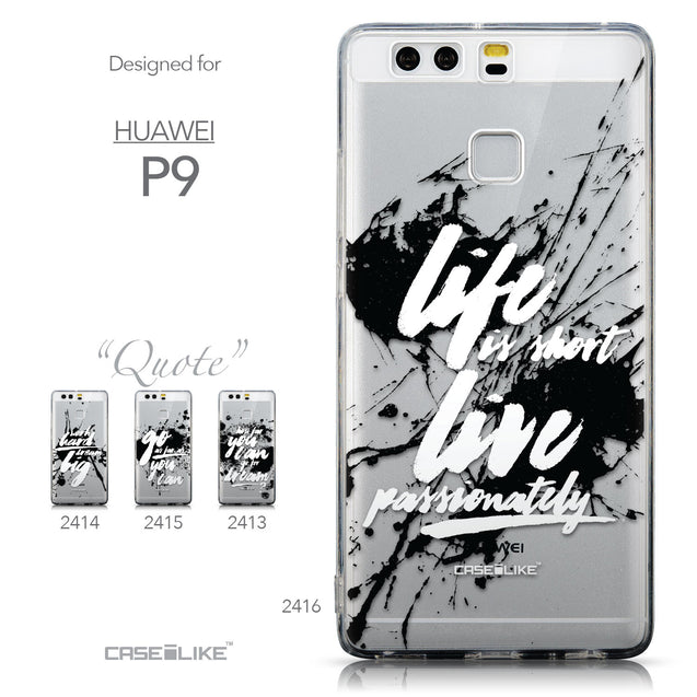Collection - CASEiLIKE Huawei P9 back cover Quote 2416
