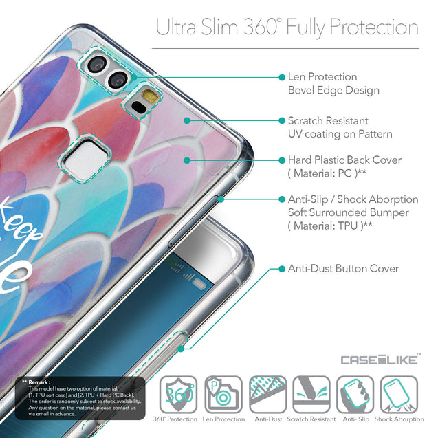 Details in English - CASEiLIKE Huawei P9 back cover Quote 2417