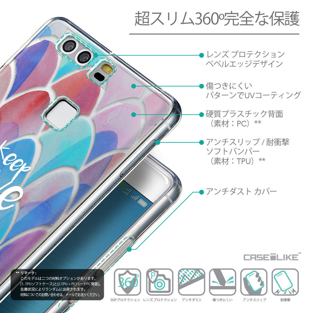 Details in Japanese - CASEiLIKE Huawei P9 back cover Quote 2417