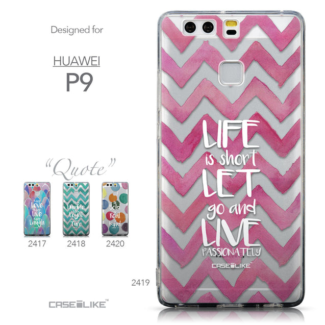 Collection - CASEiLIKE Huawei P9 back cover Quote 2419