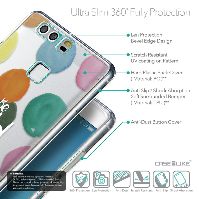 Details in English - CASEiLIKE Huawei P9 back cover Quote 2420
