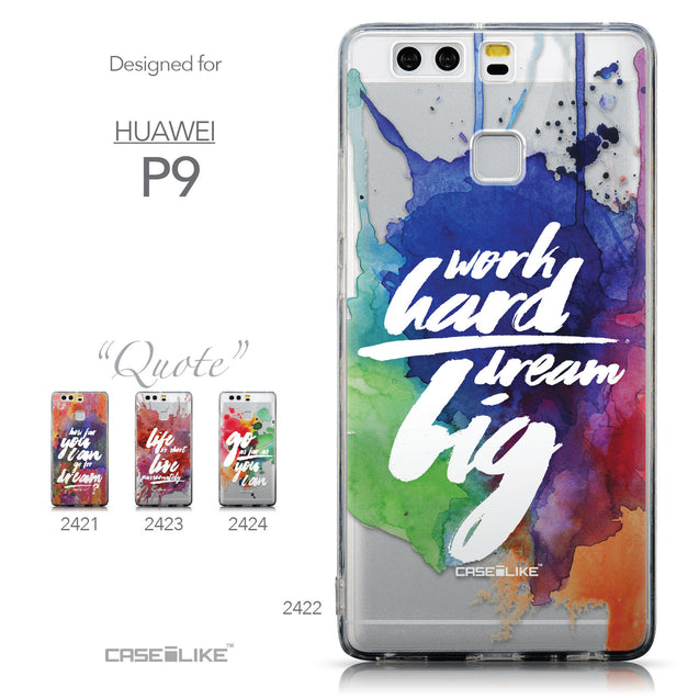 Collection - CASEiLIKE Huawei P9 back cover Quote 2422