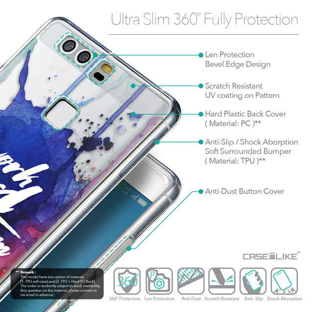 Details in English - CASEiLIKE Huawei P9 back cover Quote 2422