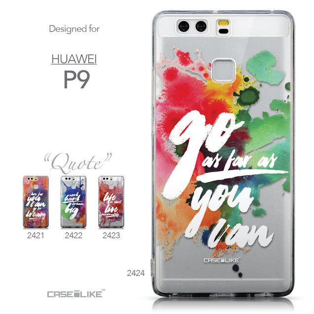 Collection - CASEiLIKE Huawei P9 back cover Quote 2424