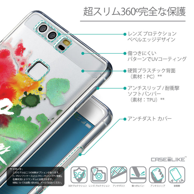 Details in Japanese - CASEiLIKE Huawei P9 back cover Quote 2424