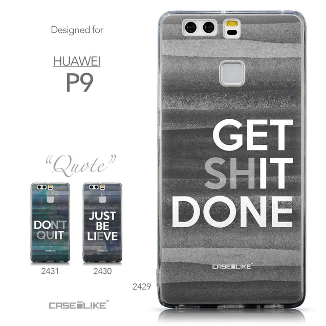 Collection - CASEiLIKE Huawei P9 back cover Quote 2429