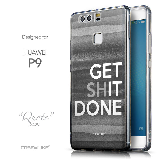 Front & Side View - CASEiLIKE Huawei P9 back cover Quote 2429