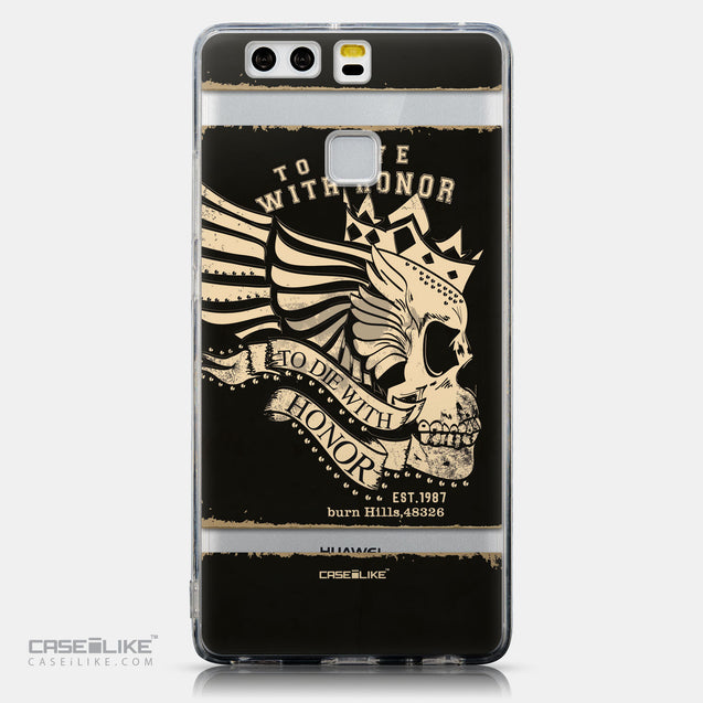 CASEiLIKE Huawei P9 back cover Art of Skull 2529