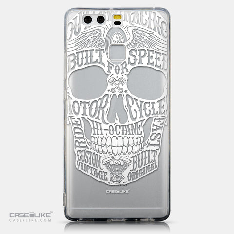 CASEiLIKE Huawei P9 back cover Art of Skull 2530
