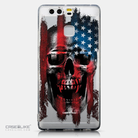 CASEiLIKE Huawei P9 back cover Art of Skull 2532