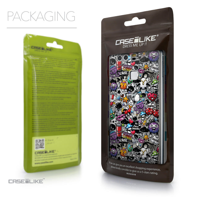 Packaging - CASEiLIKE Huawei P9 back cover Graffiti 2703