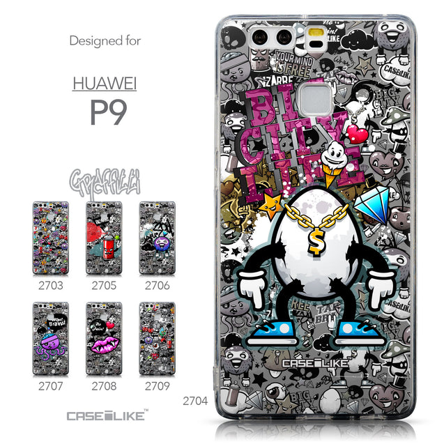 Collection - CASEiLIKE Huawei P9 back cover Graffiti 2704