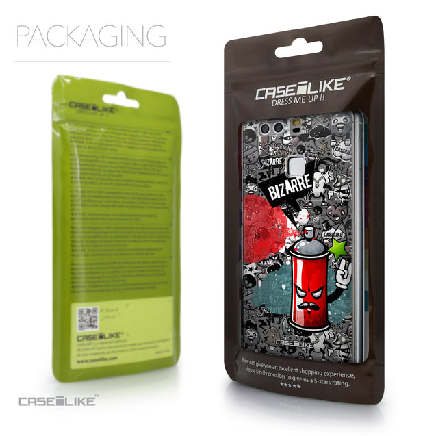Packaging - CASEiLIKE Huawei P9 back cover Graffiti 2705