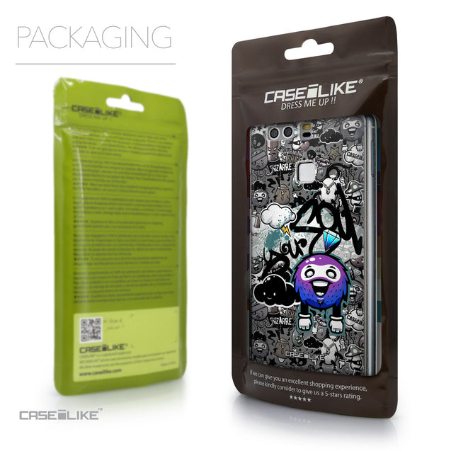 Packaging - CASEiLIKE Huawei P9 back cover Graffiti 2706