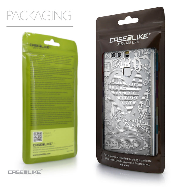 Packaging - CASEiLIKE Huawei P9 back cover Graffiti 2730