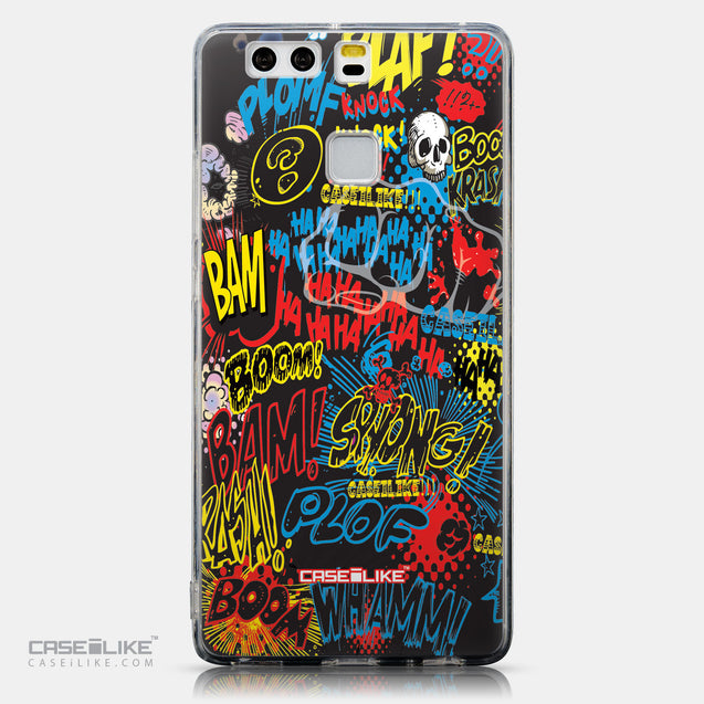 CASEiLIKE Huawei P9 back cover Comic Captions Black 2915
