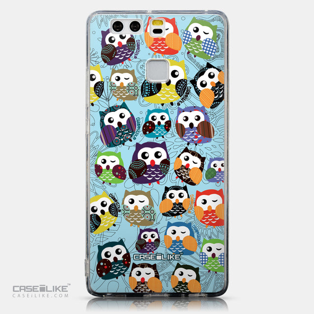 CASEiLIKE Huawei P9 back cover Owl Graphic Design 3312