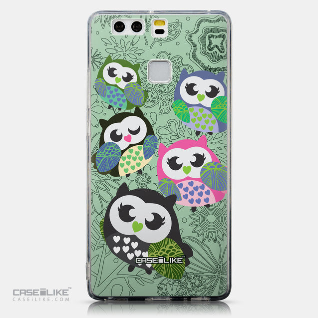 CASEiLIKE Huawei P9 back cover Owl Graphic Design 3313