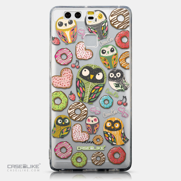CASEiLIKE Huawei P9 back cover Owl Graphic Design 3315