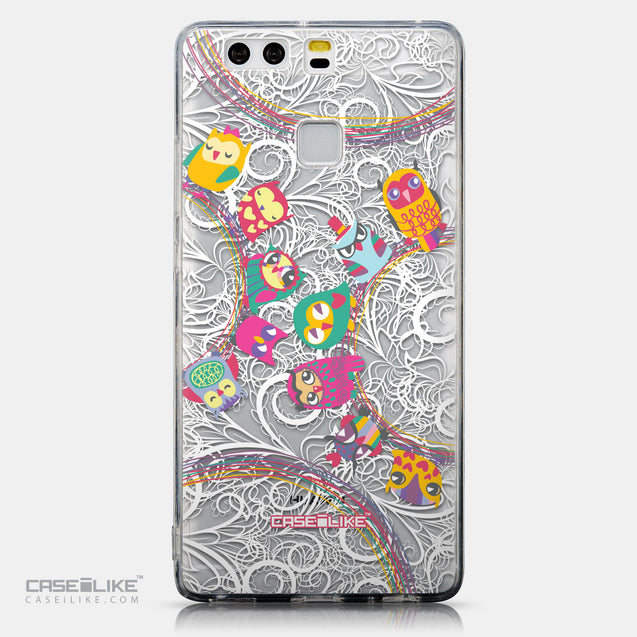 CASEiLIKE Huawei P9 back cover Owl Graphic Design 3316