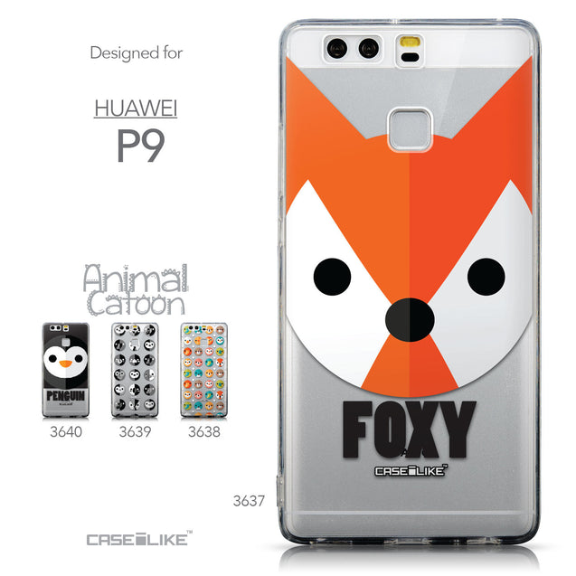 Collection - CASEiLIKE Huawei P9 back cover Animal Cartoon 3637
