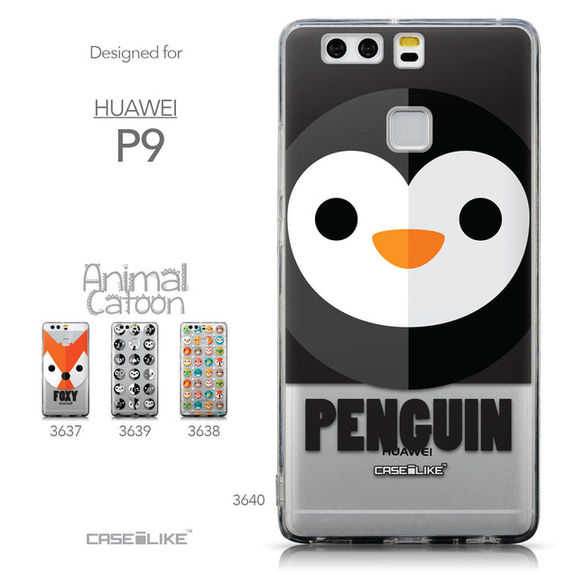 Collection - CASEiLIKE Huawei P9 back cover Animal Cartoon 3640