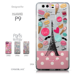 Collection - CASEiLIKE Huawei P9 back cover Paris Holiday 3904