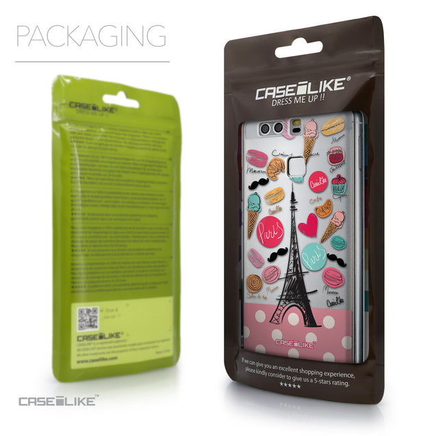 Packaging - CASEiLIKE Huawei P9 back cover Paris Holiday 3904