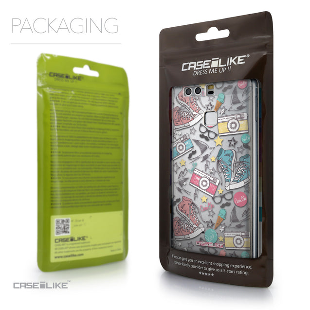 Packaging - CASEiLIKE Huawei P9 back cover Paris Holiday 3906