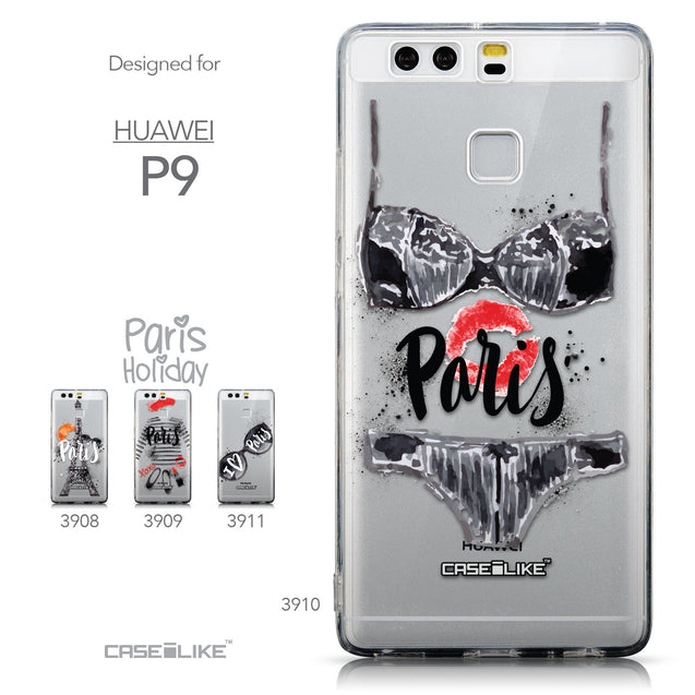 Collection - CASEiLIKE Huawei P9 back cover Paris Holiday 3910