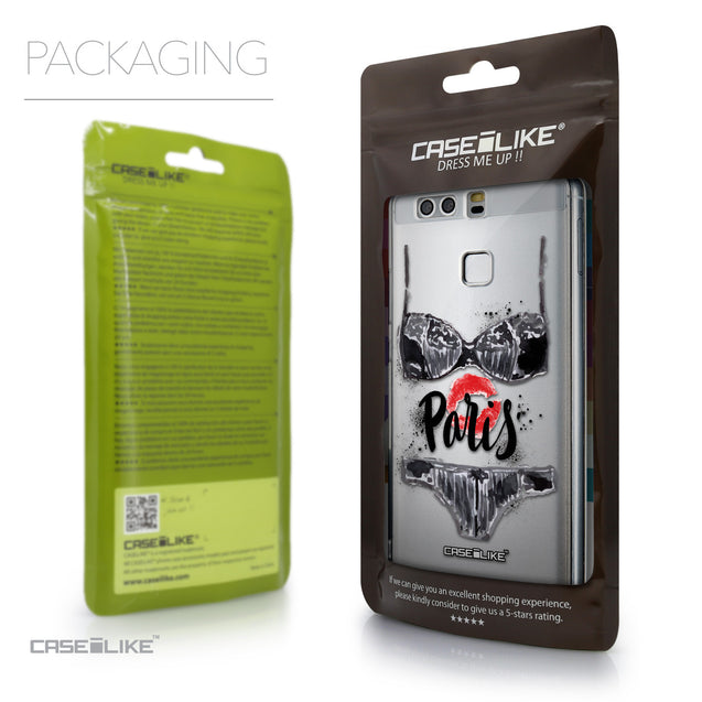 Packaging - CASEiLIKE Huawei P9 back cover Paris Holiday 3910