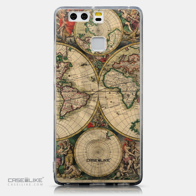 CASEiLIKE Huawei P9 back cover World Map Vintage 4607