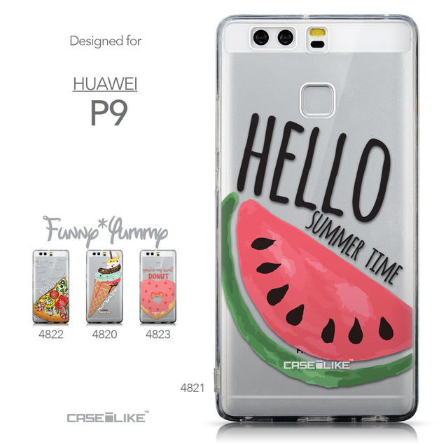 Collection - CASEiLIKE Huawei P9 back cover Water Melon 4821