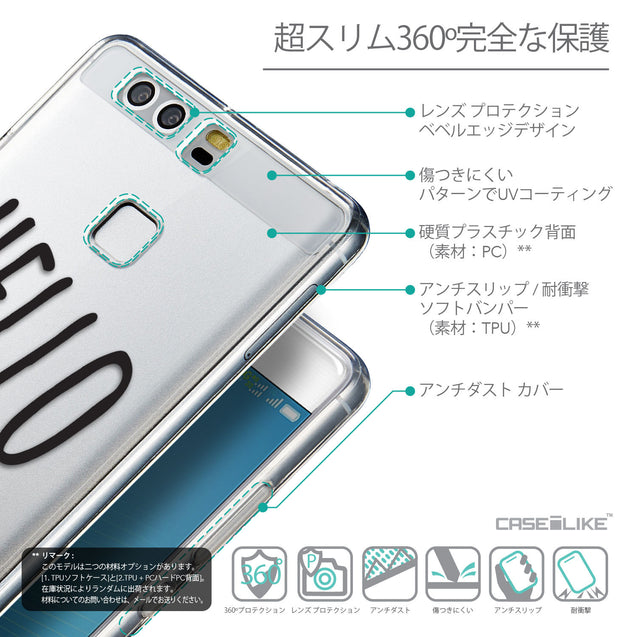 Details in Japanese - CASEiLIKE Huawei P9 back cover Water Melon 4821