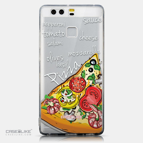 CASEiLIKE Huawei P9 back cover Pizza 4822