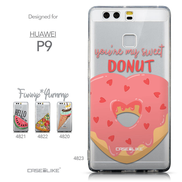 Collection - CASEiLIKE Huawei P9 back cover Dounuts 4823