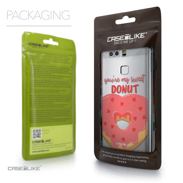 Packaging - CASEiLIKE Huawei P9 back cover Dounuts 4823