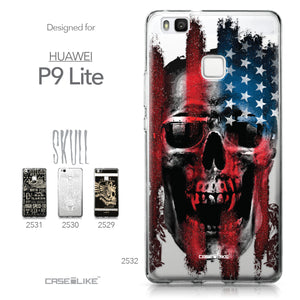Huawei P9 Lite case Art of Skull 2532 Collection | CASEiLIKE.com