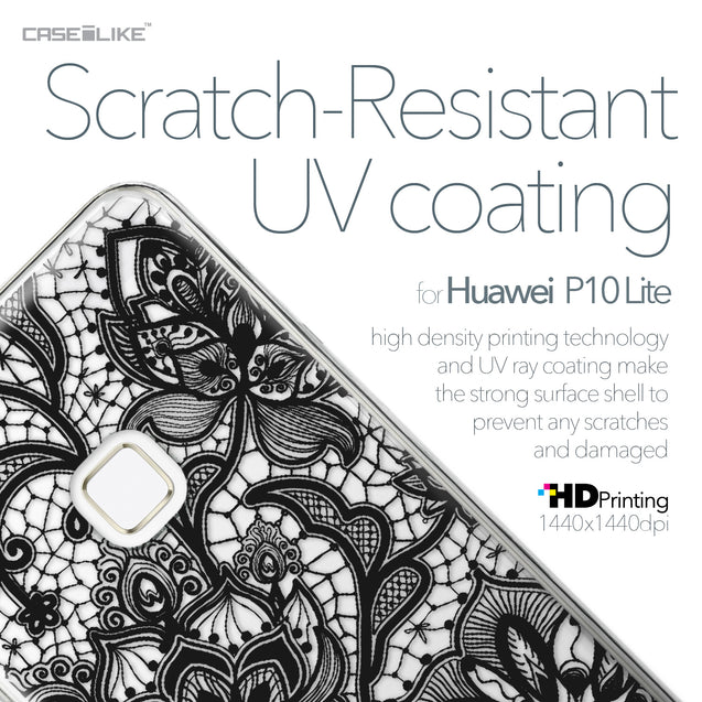 Huawei P10 Lite case Lace 2037 with UV-Coating Scratch-Resistant Case | CASEiLIKE.com