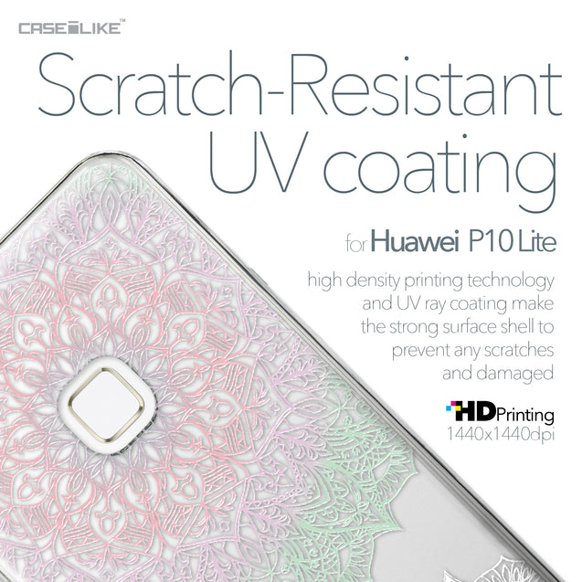 Huawei P10 Lite case Mandala Art 2092 with UV-Coating Scratch-Resistant Case | CASEiLIKE.com