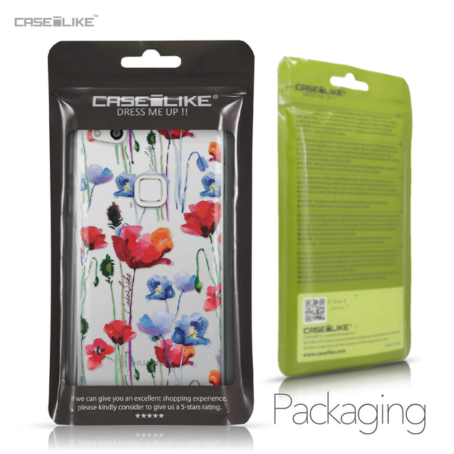 Huawei P10 Lite case Watercolor Floral 2234 Retail Packaging | CASEiLIKE.com