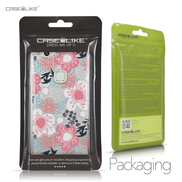 Huawei P10 Lite case Japanese Floral 2255 Retail Packaging | CASEiLIKE.com