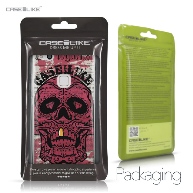 Huawei P10 Lite case Art of Skull 2523 Retail Packaging | CASEiLIKE.com