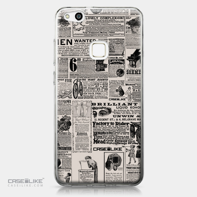 Huawei P10 Lite case Vintage Newspaper Advertising 4818 | CASEiLIKE.com