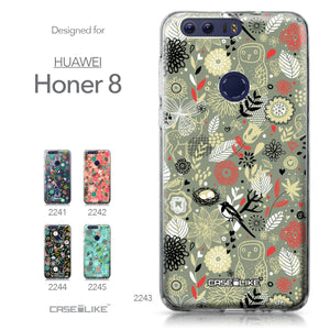 Huawei Honor 8 case Spring Forest Gray 2243 Collection | CASEiLIKE.com