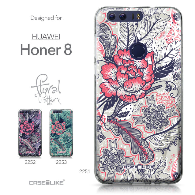 Huawei Honor 8 case Vintage Roses and Feathers Beige 2251 Collection | CASEiLIKE.com